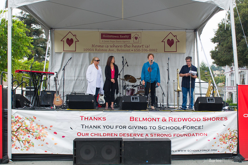 Janet Pepe Davis from Hometown Realty, a Platinum supporter of Save the Music 2012
