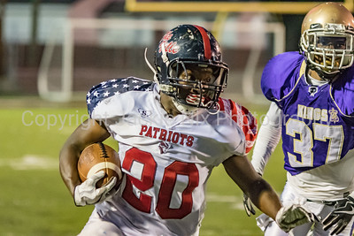 Prattville Patriots vs Crescent City Kings 5-12-18