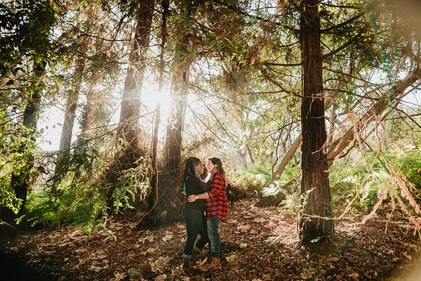 Patricia and Tenesha Engagement | Newport Environmental Nature Center