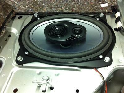 2011 Camry Rear Deck Speaker Installation