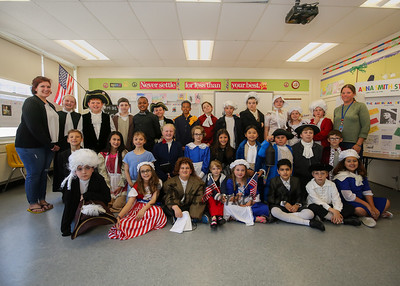 2018-5-11 Seabrook Elementary 4th grade Wax Museum