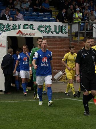 Eastleigh (1) v Concord Rangers (1) 5.10.2013