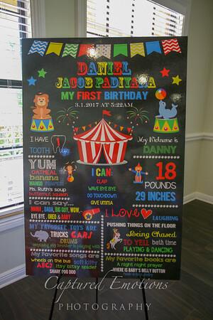 Daniel's 1st Birthday