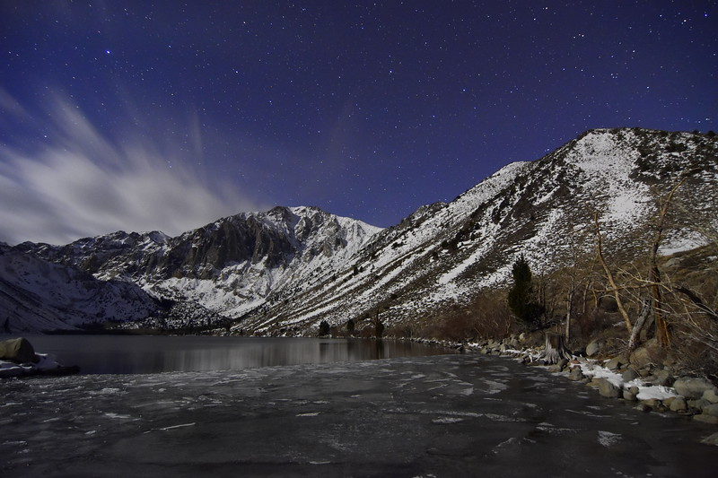 Brisk Night Under a Star Filled Sky