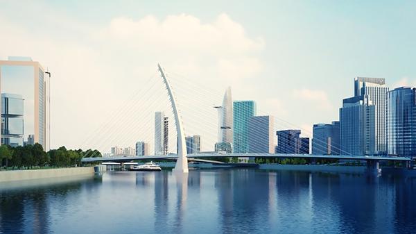 Thu Thiem 2 Bridge