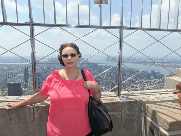 Marioara, my sister, visiting USA - July, 2017