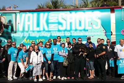 """04-20-13 """"Walk In My Shoes"""" Fort Walton Beach by Omar Vega"""