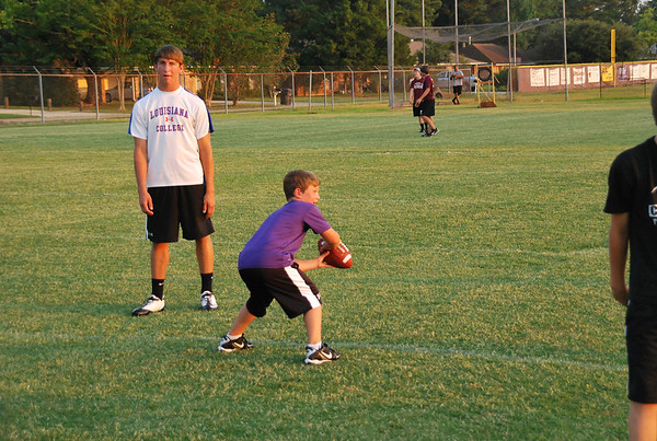 Central Coach Dotson Football Camp 6-14-11