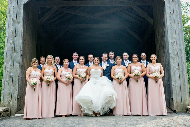 Williamsport Wedding Photographer : 8/8/15 Alicia and Mike Married!