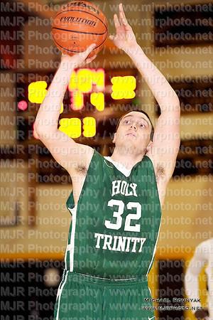St Anthonys VS Holy Trinity, Boys Varsity Basketball 02.07.12