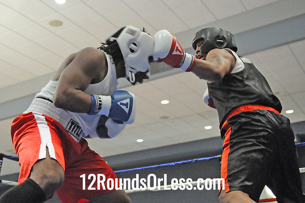 BOUT 12 Cyrano Clay, Youngstown -vs- Octavis Webb, Cleveland Heavyweights
