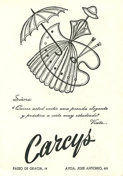 1959 CARCYS clothing store Spain (El Liceo).jpg