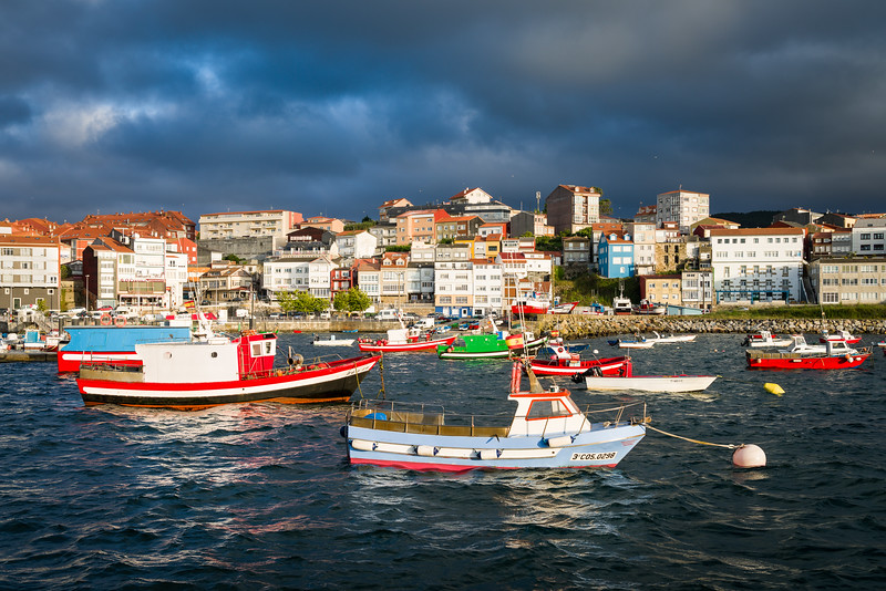 Finisterre Harbour, Spain
