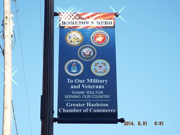 Hometown Heros ~ Hazleton, Pa