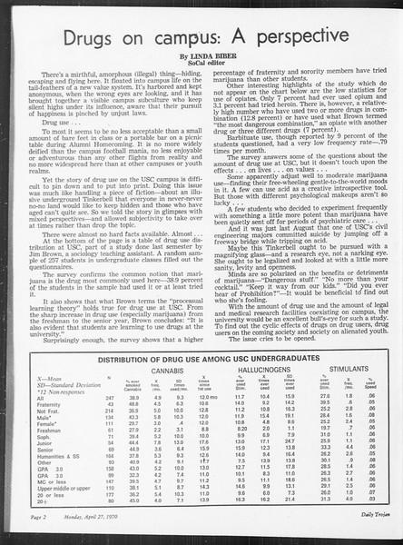 SoCal, Vol. 61, No. 113, April 27, 1970
