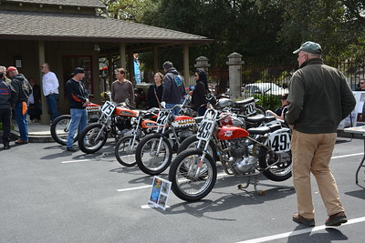 2018 Vintage Flat Track event Carmel Valley