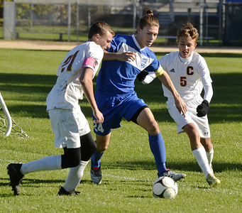 Photos Saratoga boys soccer vs. Colonie Section 2 playoffs