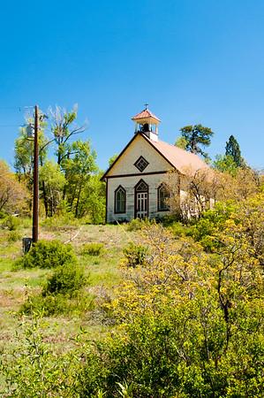 Granges, Schools, Churches of rural La Plata County