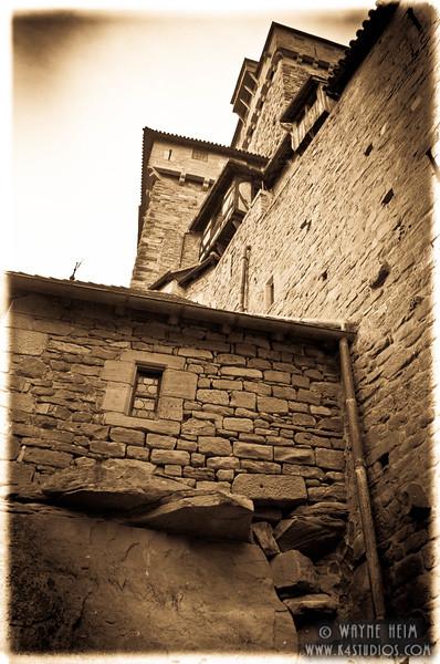 Outside Castle     Photography by Wayne Heim