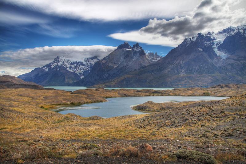 Lago Nordenskjold, Torres del Paine National Park, Chile. (HDR)