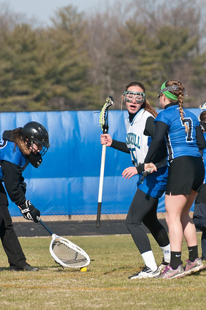 Churchill girls Lacrosse 3-23-13