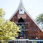 Installation of New Window at St. Augustine's