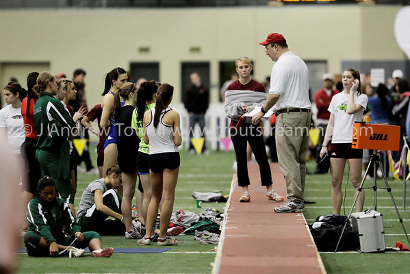 100214 Seattle Pacific University Falcons Indoor Track and Field Snapshots