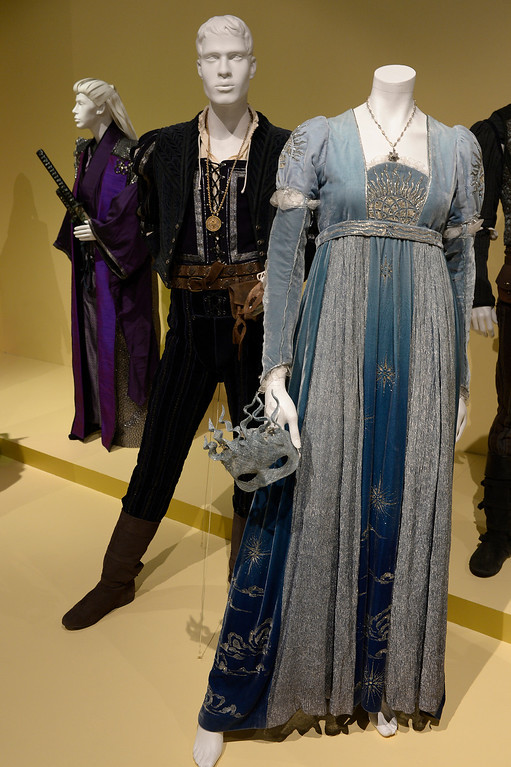 ". Costumes from ""Romeo and Juliet.\"" FIDM/Fashion Institute of Design & Merchandising is hosting the Art of Motion Picture Costume Design, which features 100 costumes from over 20 selected films, including Oscar nominated designs. Los Angeles, CA. February 09, 2014 (Photo by John McCoy / Los Angeles Daily News)"