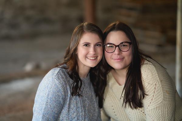 Lauren and Makayla
