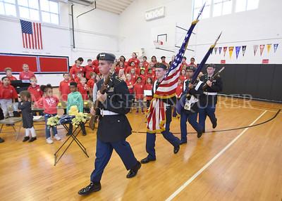 Veterans Day Assembly Estes-Messenger-Inquirer