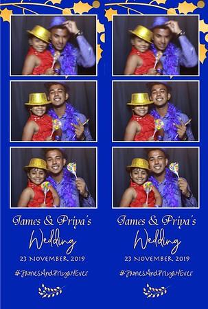 Priya & James