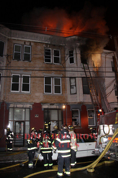 Chelsea, MA - 3rd Alarm, 101 Shurtleff Street, 1-7-10