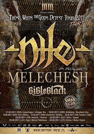 MELECHESH - Klubben 20/2 2011
