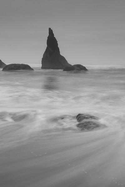 Ethereal waves at Wizard Hat, Bandon OR