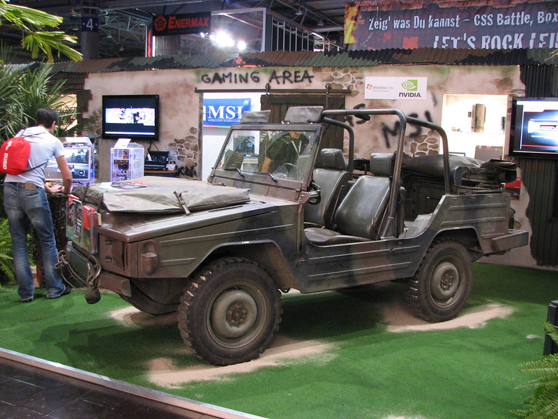 MSI Jeep on Games Convention 2008
