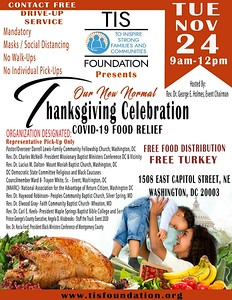 TIS FOUNDATION THANKSGIVING CELEBRATION - COVID- 19 FOOD RELIEF