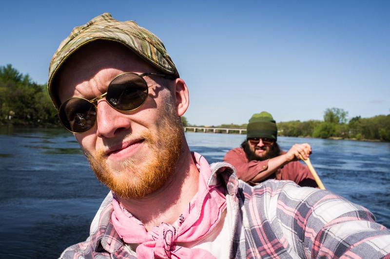 Canoe selfie #1