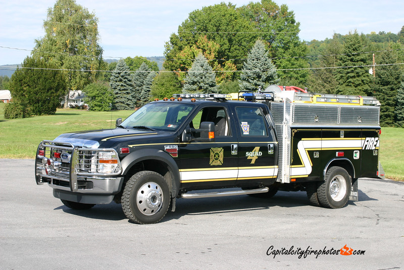 Highland Park Fire Co. (Derry Township) Squad 4: 2008 Ford/Reading PP/300