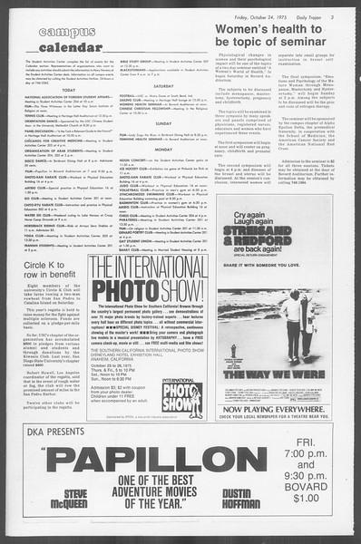 Daily Trojan, Vol. 68, No. 28, October 24, 1975