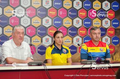 Press conference - Mirel Albon and Florentina Olar Spânu - Romania - Ukraine