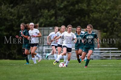 Cranston East vs Rogers Soccer Varsity Girls 10.16.17
