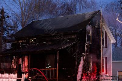 2 Alarm House Fire - 22 Bligh St, Ayer, MA - 2/22/20