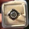 1.02ct Round Brilliant Diamond Bezel Ring 4