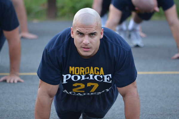 Bergen County, NJ Police Department PT Training