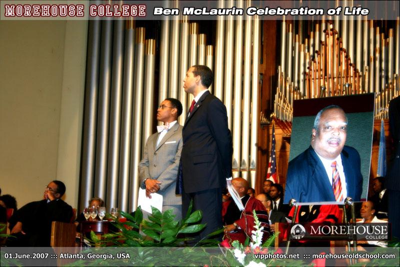 Ben McLaurin Celebration of Life ::: MLK Chapel ::: ATL, GA [Jun.01.2007]