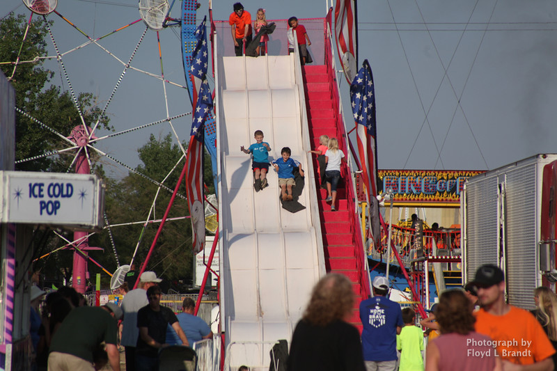 Havre Daily News / Floyd Brandt  The Great Northern Fair in Hill County Thursday