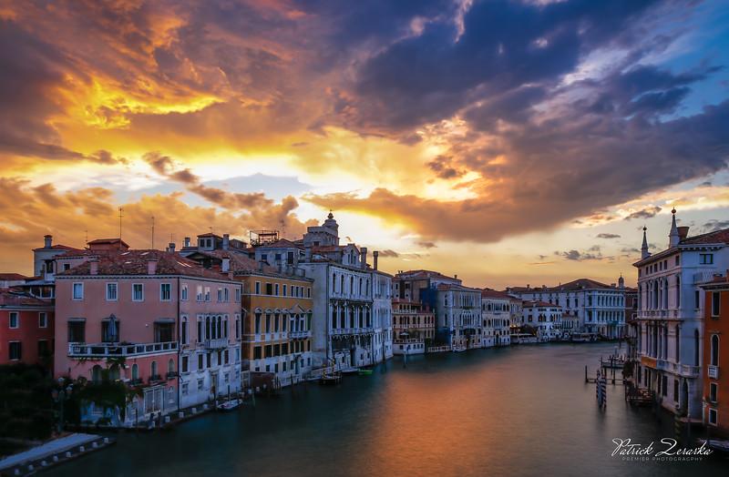 Ponte Dell'Academia Venice Italy