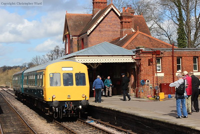 Bluebell Railway Diesel gala - March 2014