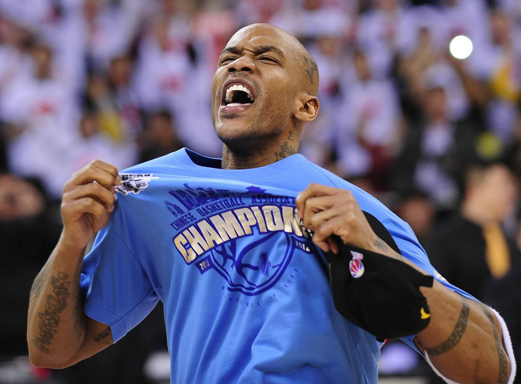 ". 6. STEPHON MARBURY <p>Will play himself in theatrical production because no real actor willing to do the Vaseline-eating scenes. (unranked) </p><p><b><a href=""http://www.si.com/extra-mustard/2014/08/19/stephon-marbury-china-play\"" target=\""_blank\""> LINK </a></b> </p><p>    (STR/AFP/Getty Images)</p>"