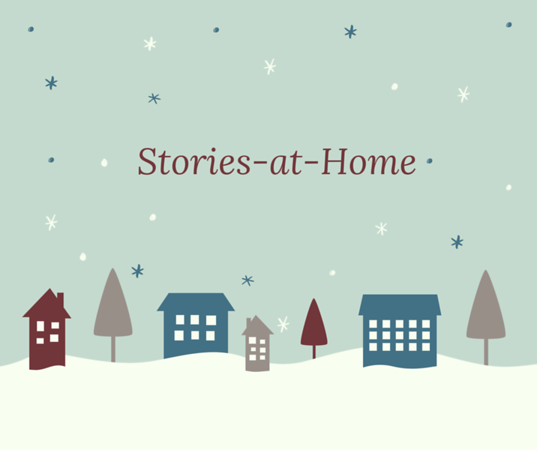 Illustrated Winter Town Holiday Poster